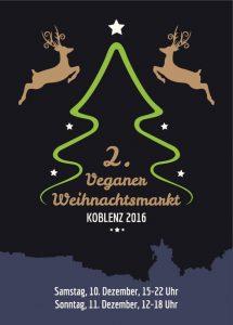 veganer weihnachtsmarkt koblenz 2016 flyer